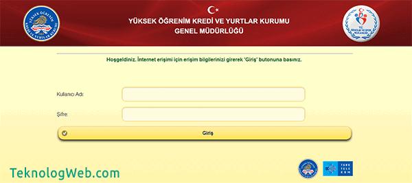 KYK Wifi Doğrulama Sayfası KYK Portal