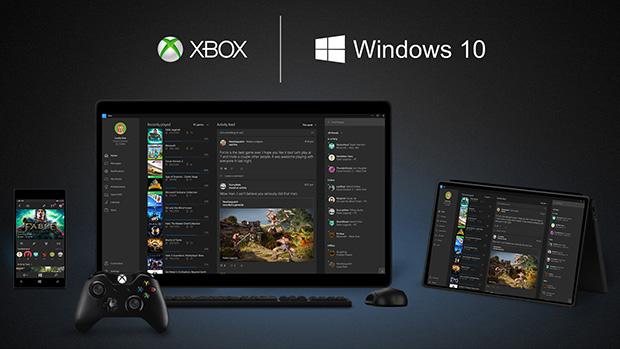Windows 10 - Xbox Oyunları Masa Üstünde