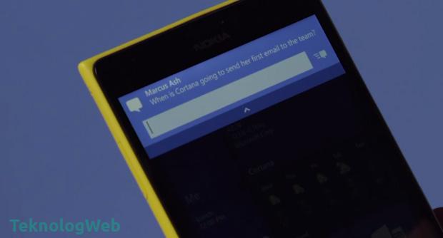 Windows Phone için Windows 10 - Etkileşimli Bildirimler
