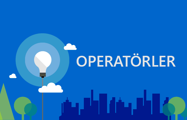 C# Dersleri: Operatörler (Aritmetik ve Mantıksal Operatörler)