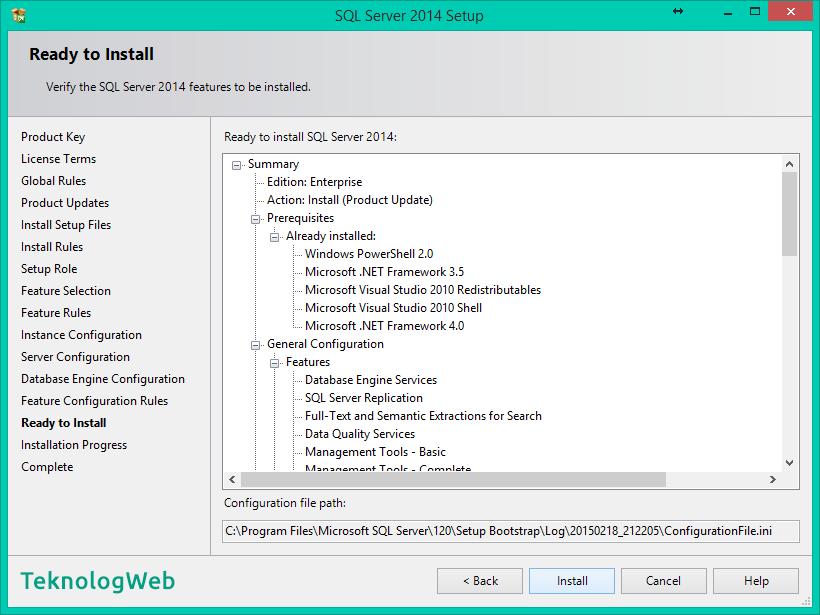 SQL Server 2014 - Ready to Install