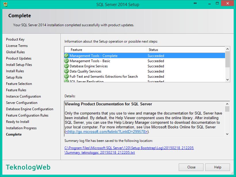 SQL Server 2014 - Complete