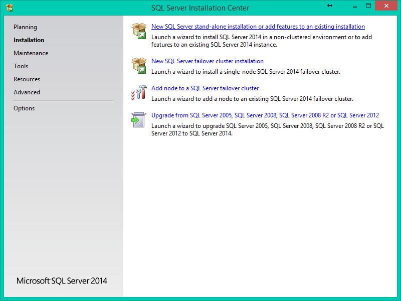SQL Server 2014 Kurulumu Resimli Anlatım - Installation