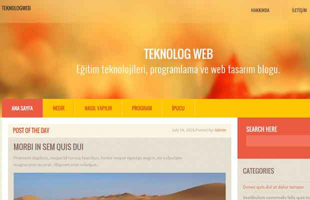 Asp.net Master Page Hazırlama
